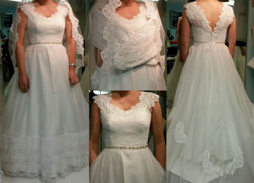 Redesign From Mom 39 S Wedding Dress Jenmar Creations