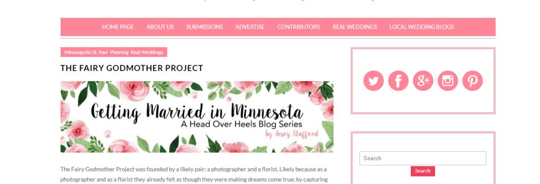 Head Over Heals Blog | Fairy Godmother Project